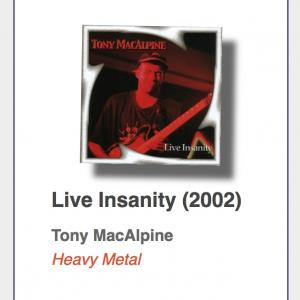 "#56: Tony MacAlpine ""Live Insanity"""