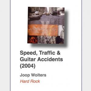 """#77: Joop Wolters """"Speed, Traffic & Guitar Accidents"""""""